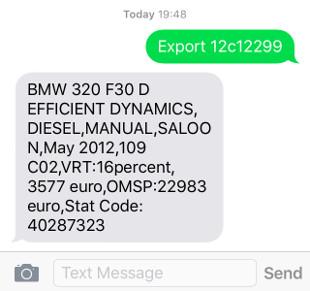 VRT export repayment calculator
