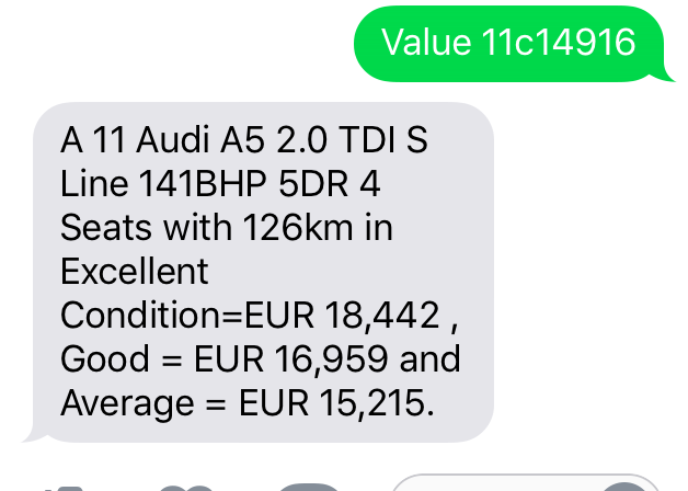 Irish Car Value